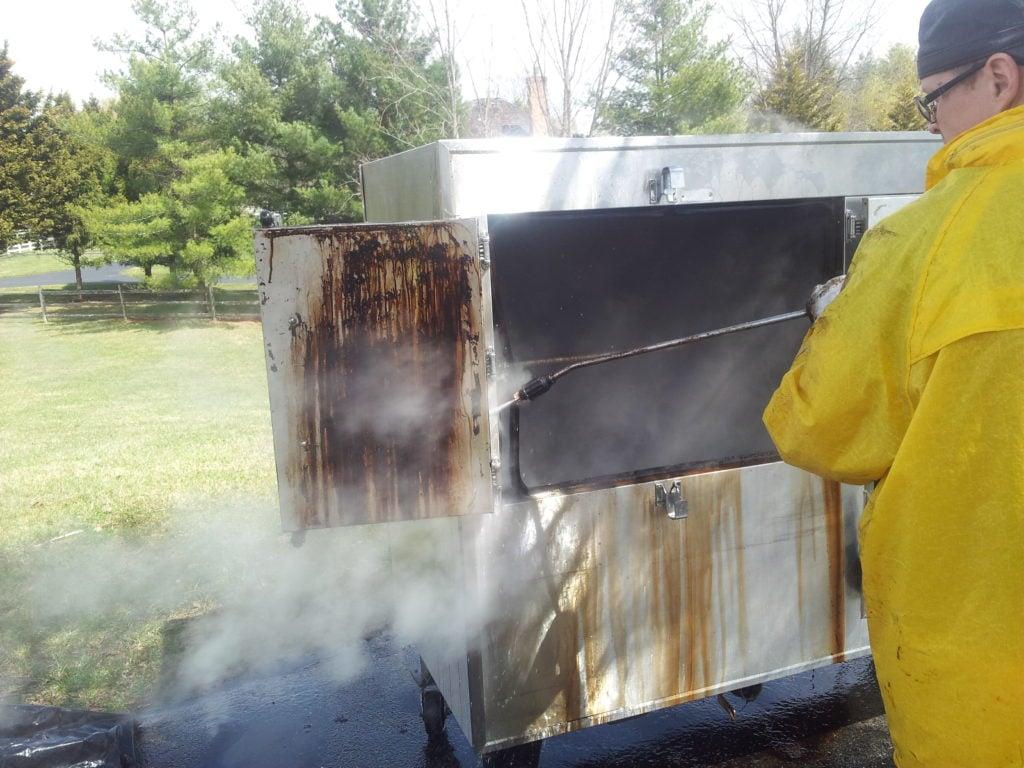 Kitchen Equipment Deep Steam Cleaning Md Dc Va