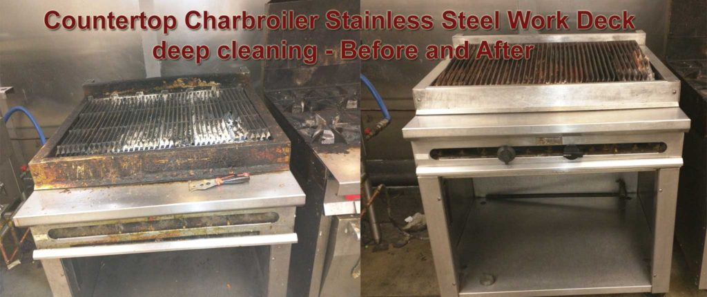 Kitchen Equipment Deep Steam Cleaning Md Dc Va